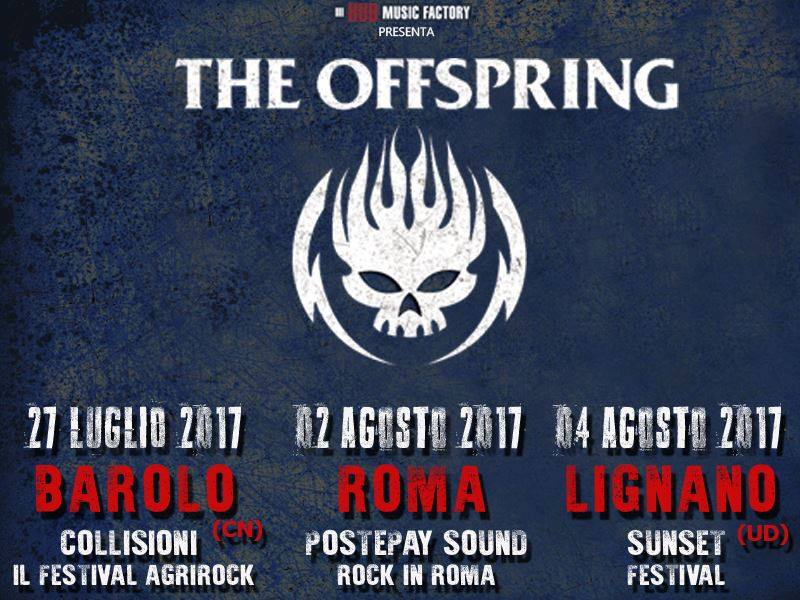 News - Offspring_in_Concert_Italy_2017